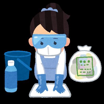 子供が嘔吐!処理と消毒の手順を分かりやすく解説