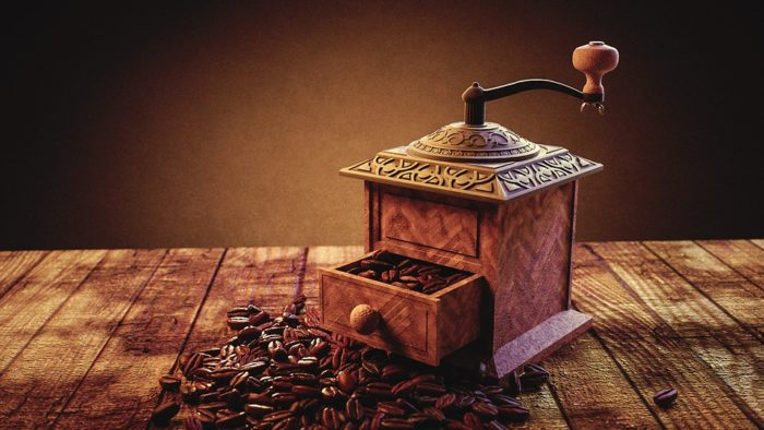 コーヒー豆挽き方