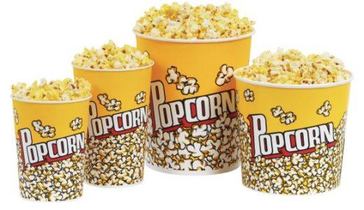 映画館のポップコーンのカロリーは?サイズや味ごとに比べてみた!