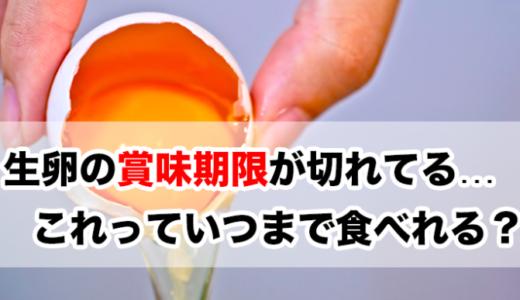 生卵の賞味期限切れはいつまで食べれる?割った後の日持ちは短いので注意!