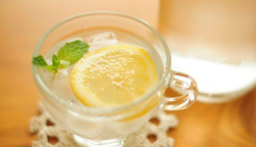 レモン水の作り方(1リットル)!作り置きはできる?